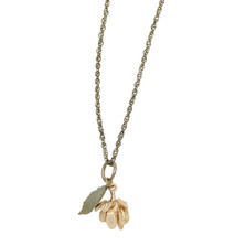 "Hops 16"" Adjustable Chain Necklace | Michael Michaud Jewelry | 9139BZG"