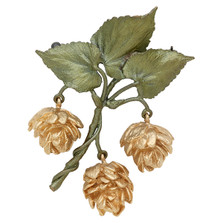 Hops Pin | Michael Michaud Jewelry | 5966BZG