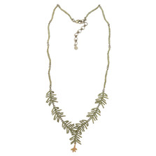 Petite Pine Y Necklace | Michael Michaud Jewelry | 9127BZG