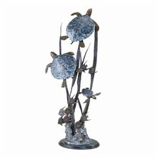 "Sea Turtle Trio ""Seascape"" Sculpture 