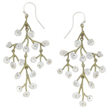 Baby's Breath Chandelier Earrings | Michael Michaud Jewelry | 3210BZWP