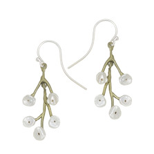 Baby's Breath Dangle Earrings | Michael Michaud Jewelry | 3211BZWP