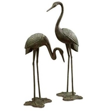 Garden Crane Garden Sculpture Pair | 33242 | SPI Home