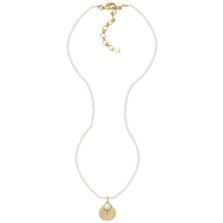 Sea Scallop Pendant Pearl Necklace | Michael Michaud Jewelry | 9120BZGSWP