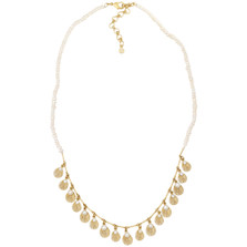 """Sea Scallop 18"""" Pearl Necklace   Michael Michaud Jewelry   9118BZGSWP"""