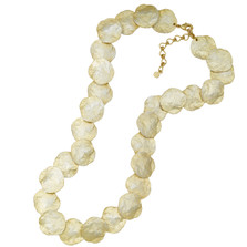 Petite La Mer Shells Contour Necklace | Michael Michaud | 9113BZGS