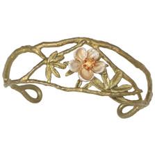 Tundra Rose Cuff Bracelet | Michael Michaud Jewelry | 7270BZGS