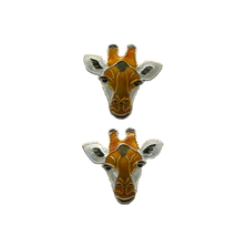 Giraffe Face Post Earrings | Bamboo Jewelry | BJ0214pe