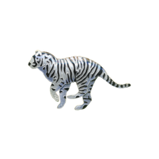 White Tiger Pin | Bamboo Jewelry | BJ0203p