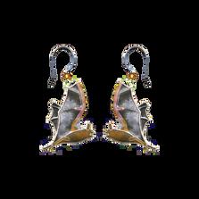Free Tail Bat Wire Earrings | Bamboo Jewelry | BJ0068e