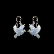 Dove Wire Earrings | Bamboo Jewelry | BJ0241e