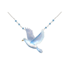 Dove Large Necklace | Bamboo Jewelry | BJ0241ln