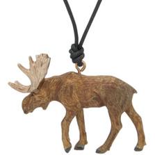 Moose Sculptural Pendant Necklace | Cavin Richie Jewelry | DMOKB-68-PEND