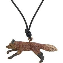 Fox Pendant Necklace | Cavin Richie Jewelry | DMOKB-170-PEND