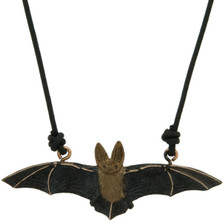 Long-Eared Bat Pendant Necklace | Cavin Richie Jewelry | DMOKB-183-PEND