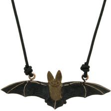 Long-Eared Bat Pendant Necklace | Cavin Richie Jewelry | DMOKB-183-PEND