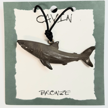 Great White Shark Pendant Necklace | Cavin Richie Jewelry | DMOKB-181-PEND