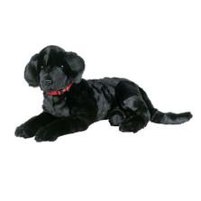 Black Lab Plush Lap Dog | Ditz Designs | DIT40495