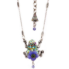 Frog Pendant Necklace  | Nature Jewelry | NK-9532-AP
