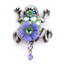 Frog Pin | Nature Jewelry | PN-9530-AP