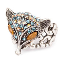 Fox Head Ring | Nature Jewelry | RG-9610