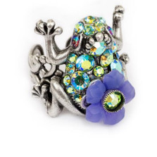 Frog Ring | Nature Jewelry | RG-9530-AP