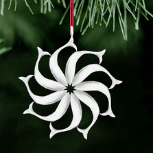 North Star Polished Pewter Ornament | Lovell Designs | LOVOR209