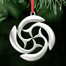 St. Brendan's Cross Pewter Ornament | Lovell Designs | LOVOR213