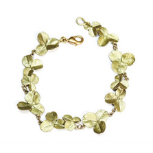 Clover Leaf Flexible Bracelet | Michael Michaud Jewelry | 7190BZ