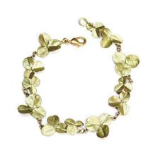 Clover Leaf Flexible Bracelet   Michael Michaud Jewelry   7190BZ