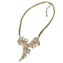 Fern Adjustable Pearl Necklace | Michael Michaud Jewelry | 9072BZGP