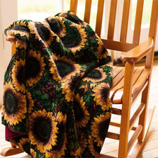 Sunflower Micro Plush Throw Blanket | Denali | 16180772