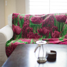 Tulip Micro Plush Throw Blanket   Denali   16165272