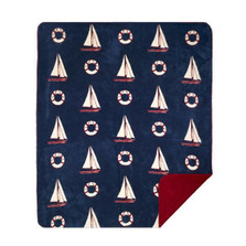 Sailboat Micro Plush Throw Blanket | Denali | 16142672 -2
