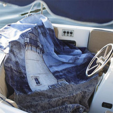 Sailboat Micro Plush Throw Blanket | Denali | 16119272