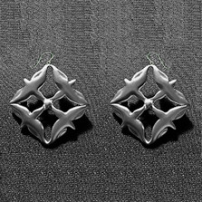 Eagle River Pewter Wire Earrings