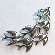 Swallow Skydance Arc Pin