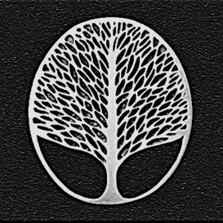 Tree of Life Pewter Pin