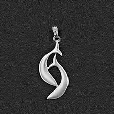 """Dolphin Pewter Small Pendant """"Harmony Bay"""""""