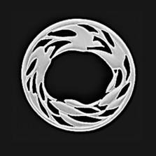 Circle of Life Pewter Pin