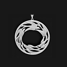 Circle of Life Pewter Pendant