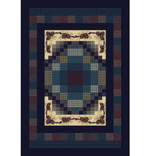 Gingham Pine Area Rug | United Weavers | UW940-13064-5x7
