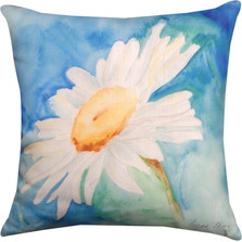 Daisy Indoor/Outdoor Pillow | Manual Woodworkers | SLDSUN