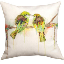 Love Birds Indoor/Outdoor Pillow | Manual Woodworkers | SL8LVB