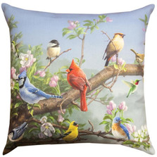Songbird Indoor/Outdoor Pillow | Manual Woodworkers | SLAPPL