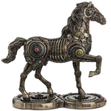 Steampunk Horse Sculpture | Unicorn Studios | WU77248A4