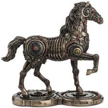 Steampunk Horse Sculpture | Unicorn Studios | WU77248A4