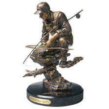 Fisherman Sculpture | Big Sky Carvers | BSC30138008