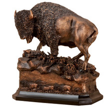 Buffalo Sculpture | Big Sky Carvers | BSCB5220022