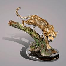 Bronze Jaguar Sculpture | Barry Stein